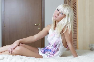 Shy teen girls blow job